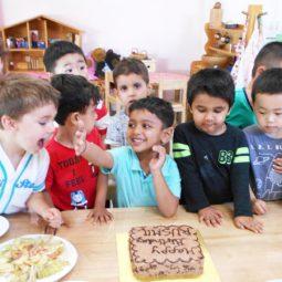 Celebrating birthdays
